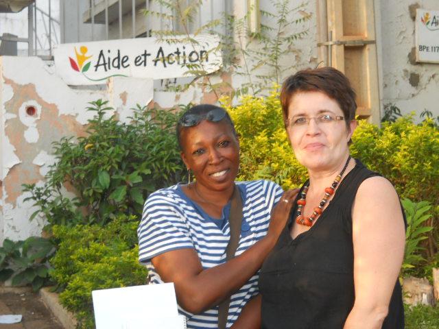 Objectif Mali réunion avec Aide et Action