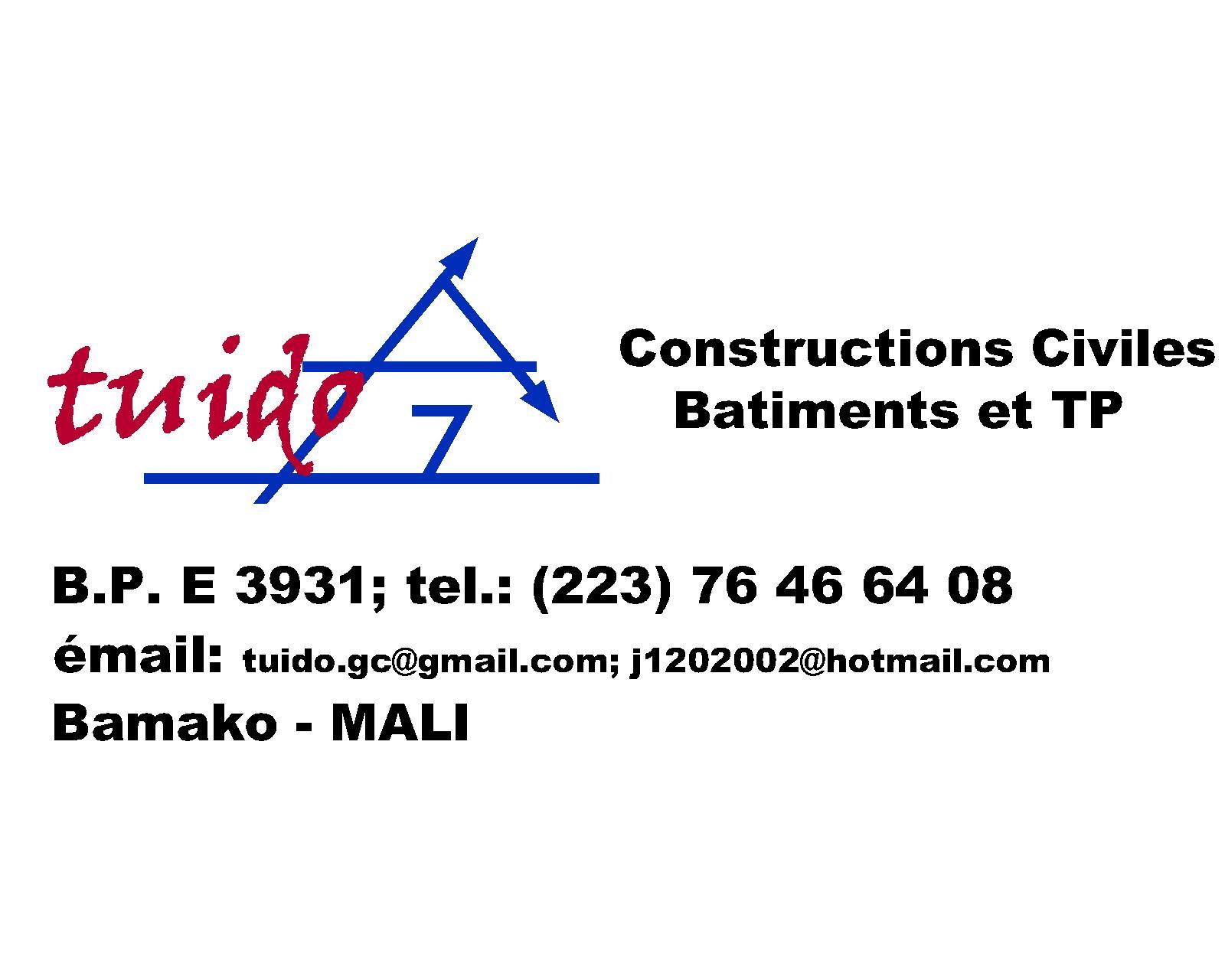 Coordonnee du partenaire de la construction de_l'ecole au_mali