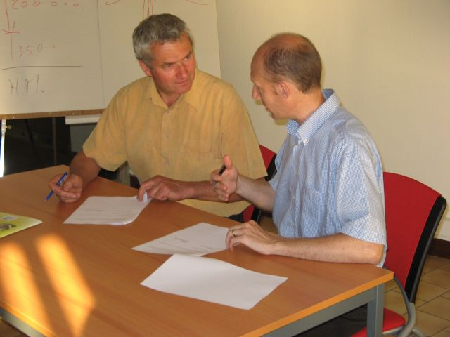 Signature d'une convention de partenariat