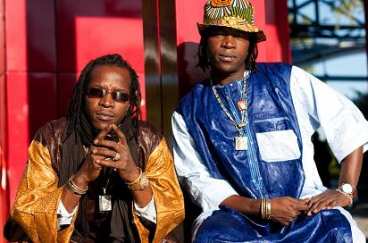 Les Frères de La rue concert pour Objectif Mali