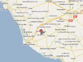 Carte Googlemap Situation du départ de la randonnée de l'association Objectif Mali à Ste Foy