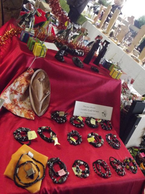 Marché Noël Objectif Mali
