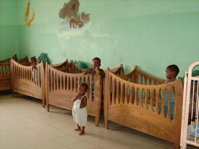 photo de d'une chambre de la Pouponnière de Bamako