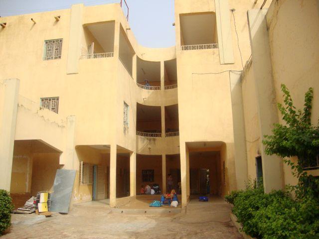 photo d'une vue de la Pouponnière de Bamako